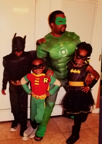 Green Lantern and the Supers (Halloween 2013)