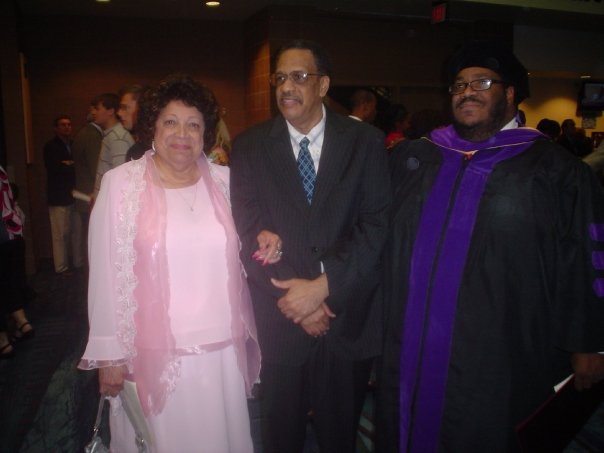 Loyola Law School Graduation (Ms. Dee and brother, Larry)